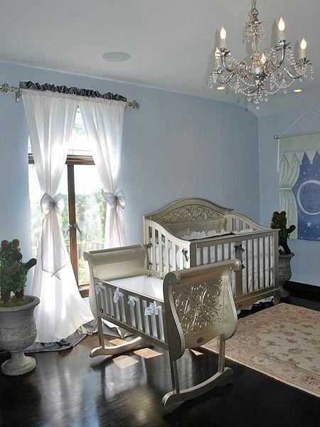 Elegant Baby Boy Nursery: Celebrity Hollywood Chic Nursery