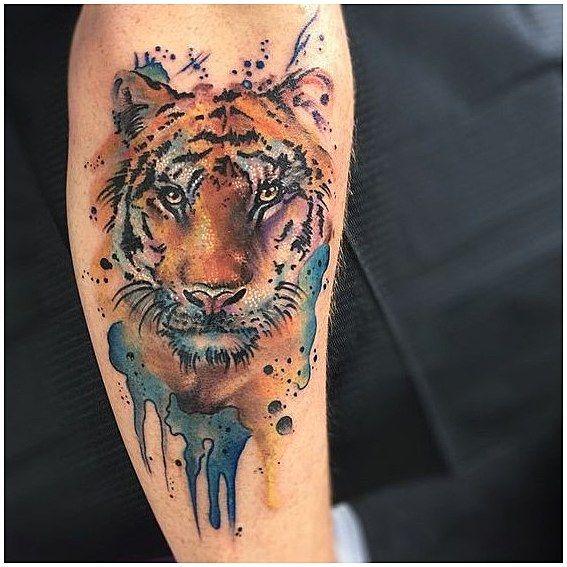 Tiger tattoo 45