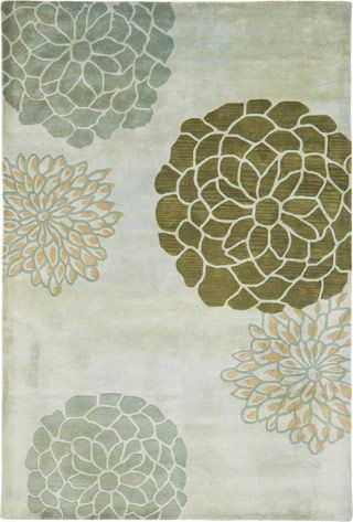 Contemporary Soho SOH211A Rug from the Botanical Rugs I collection at Modern Area Rugs