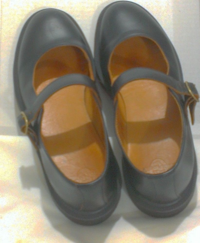 Dr Martens Indica Air Cushion Sole Black Mary Jane Shoe US Size 9, UK 7, EU 41 #DrMartens #MaryJanes