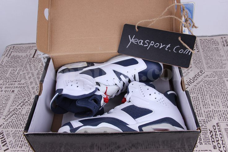 a345c65b7e4673 Air Jordan 6 Retro Olympic