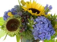Autumn in Tuscany - floral design instruction for a beautiful centerpiece