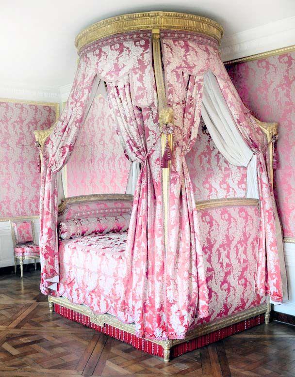 lit a la polonaise ciel de lit pinterest french bed canopy and bedrooms. Black Bedroom Furniture Sets. Home Design Ideas
