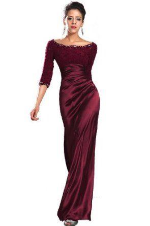 eDressit New Strapless Hot Burgundy Evening Dress Prom Ball Gown ...
