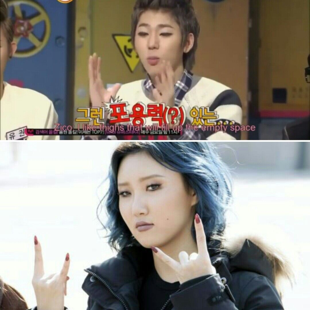 Zico Hwasa I Want To Date Both Of Them But I Also Think They Would Be Cute Together Being A Kpop Fan Is Hard Mamamoo Zico Hwasa