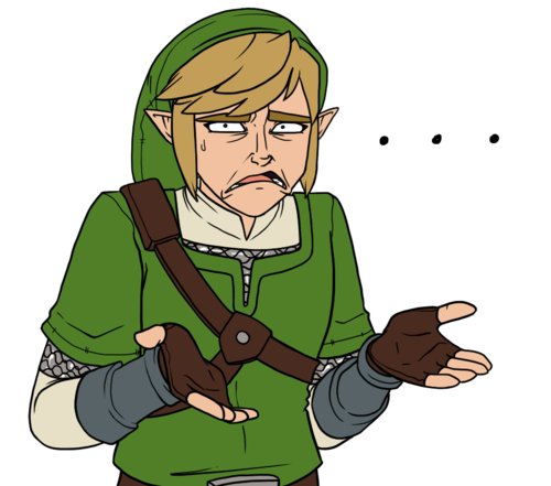 Derp Face Link Legend Of Zelda Pinterest