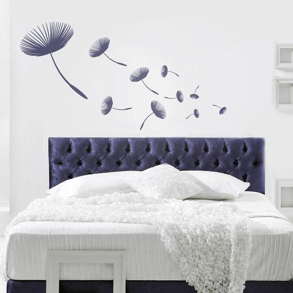 Wandtattoo Schlafzimmer Pusteblume | Wohnen | Pinterest ...