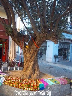Urbano Knitting Valencia Piazza ridisegna Medico Collado de Valencia