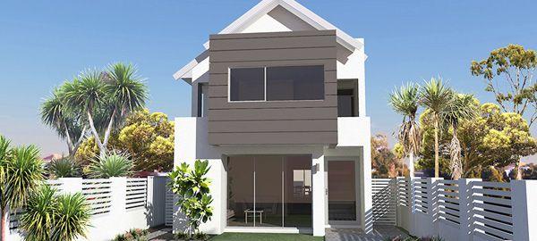 Narrow Lot House Plans | Narrow Block House Design | Switch Homes ...