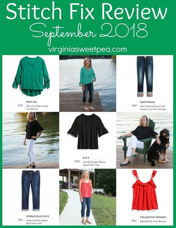 7ee20b2fbd4f1 Stitch Fix Review for September 2018 - See styles perfect for transitioning  from summer to fall.  stitchfix  stitchfixreview  fashionover40