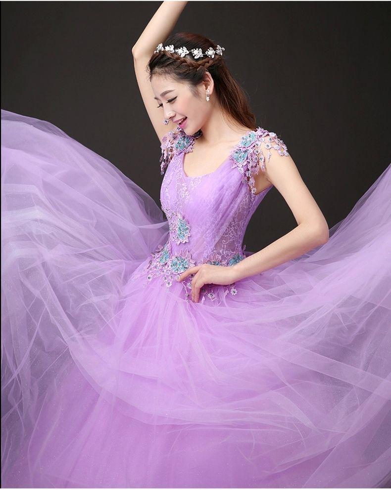 100% real carnaval de venecia luz púrpura medieval vestido de la ...