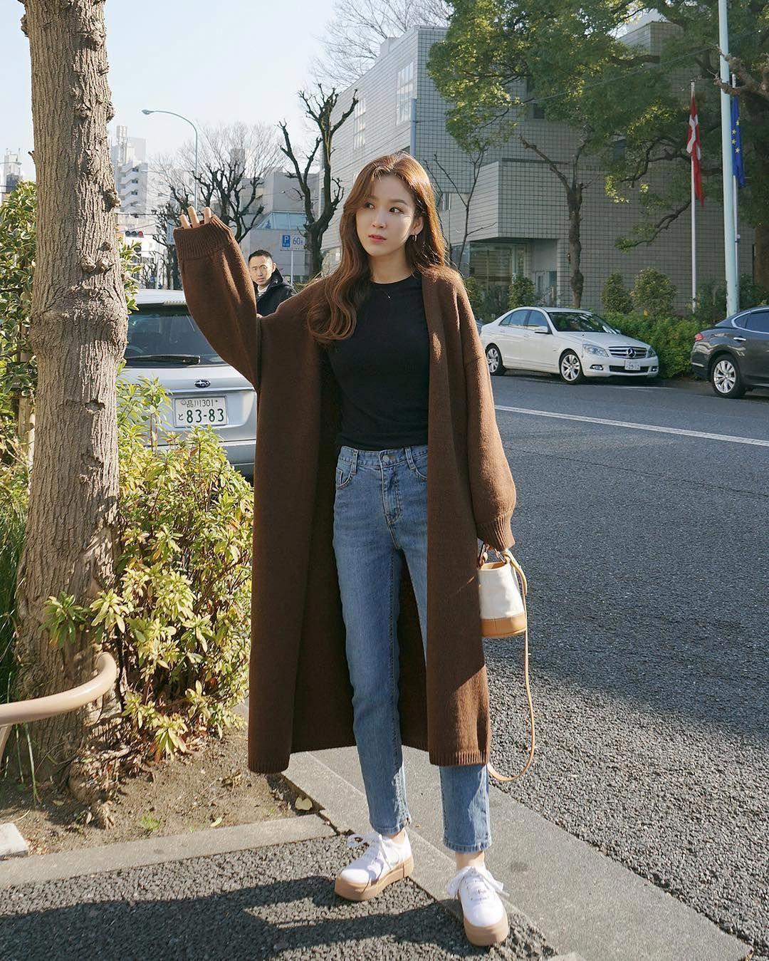pighip(MT) banyoonhee style 2017 koreanstylefashion Korea Spring Fashion,  Japan