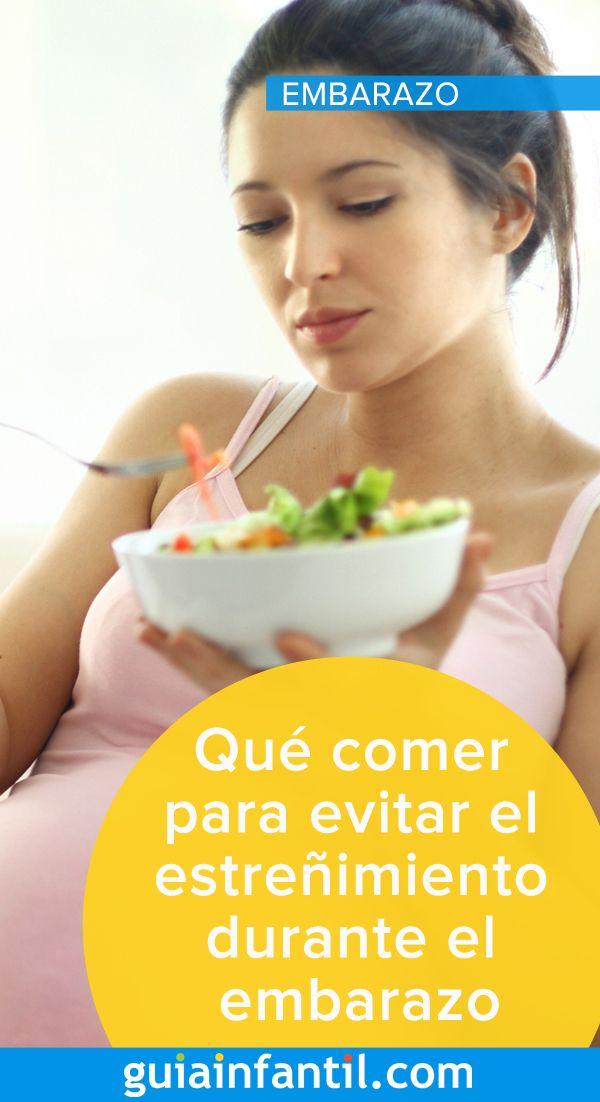 El el embarazo estrenimiento alimentos aliviar durante para