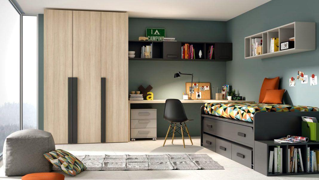 Dormitorios juveniles de diseo moderno a los que no podr