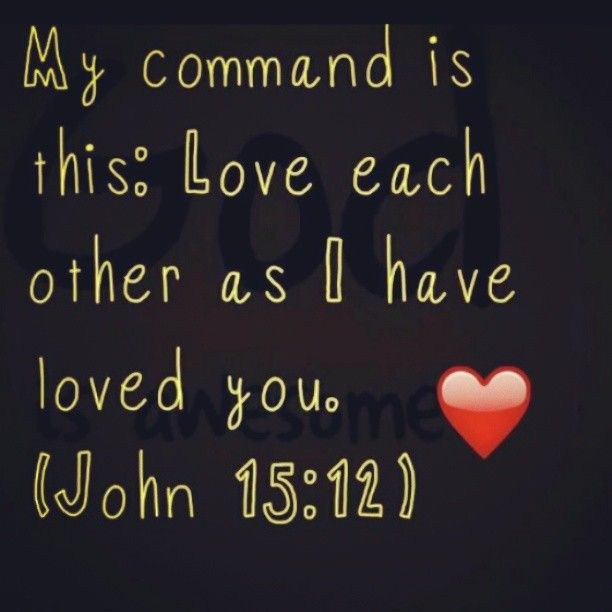 Godly Love For Each Other: My Command Is This: Love Each Other As I Have Loved You
