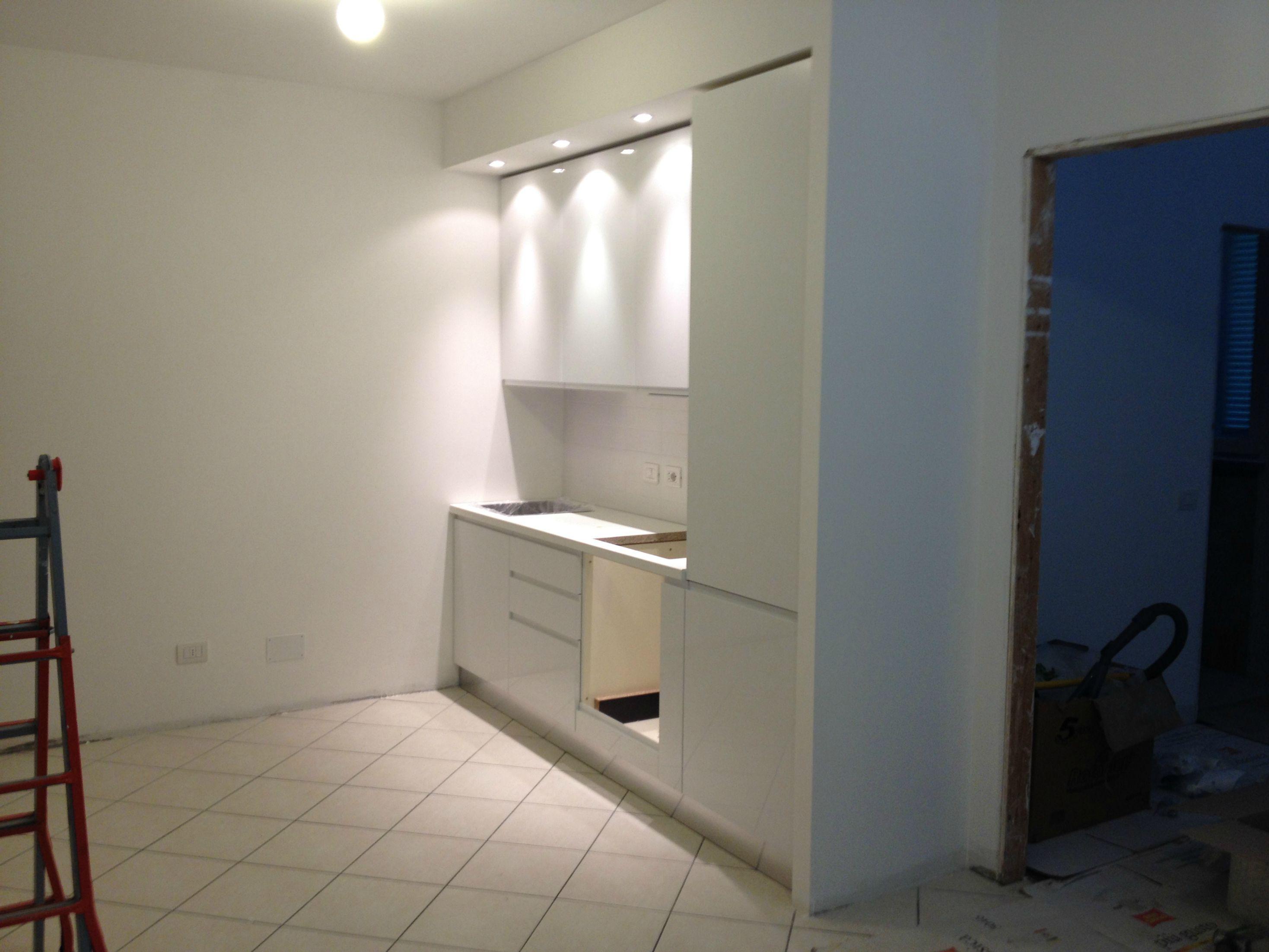 Resultado de imagen de frigo incassato cartongesso for Cartongesso sala