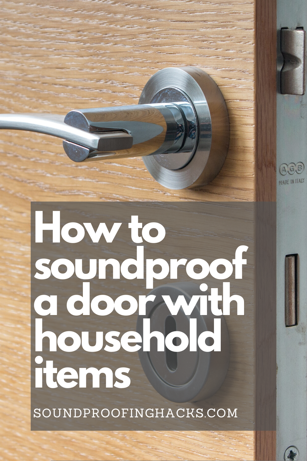 How To Soundproof A Door With Household Items Sound Proofing Household Items Household