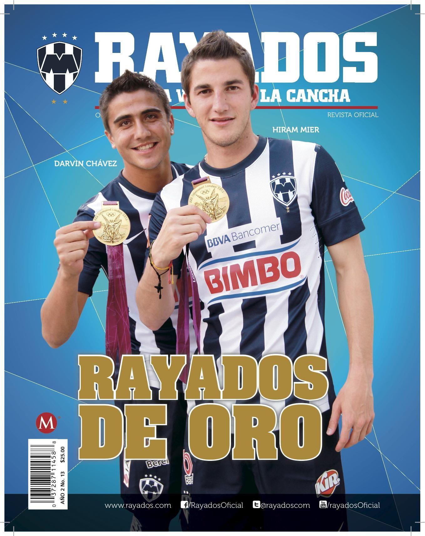 Revista Rayados Octubre.   De venta en Tienda Rayados y tiendas de autoservicios.
