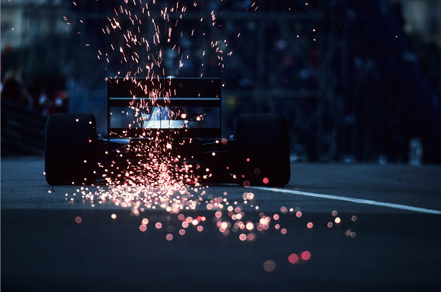 Making sparks fly