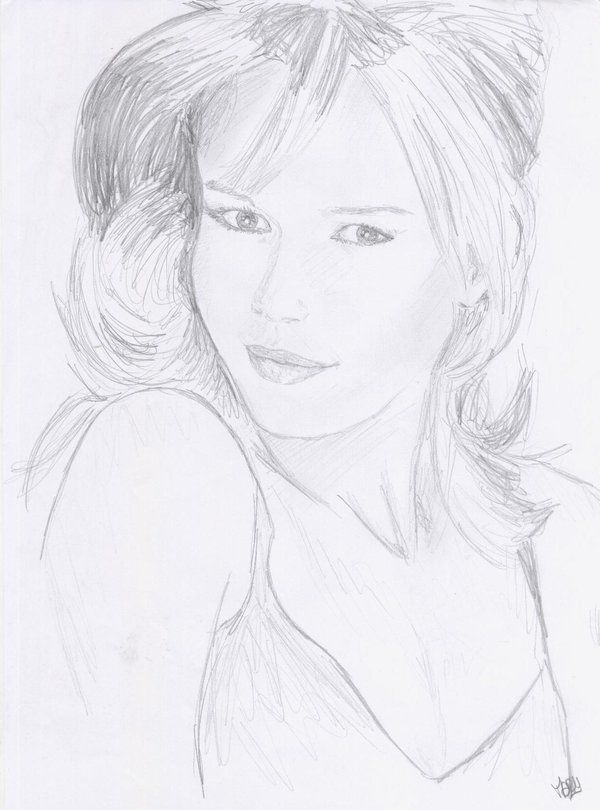 Claudia Schiffer by crayon2papier