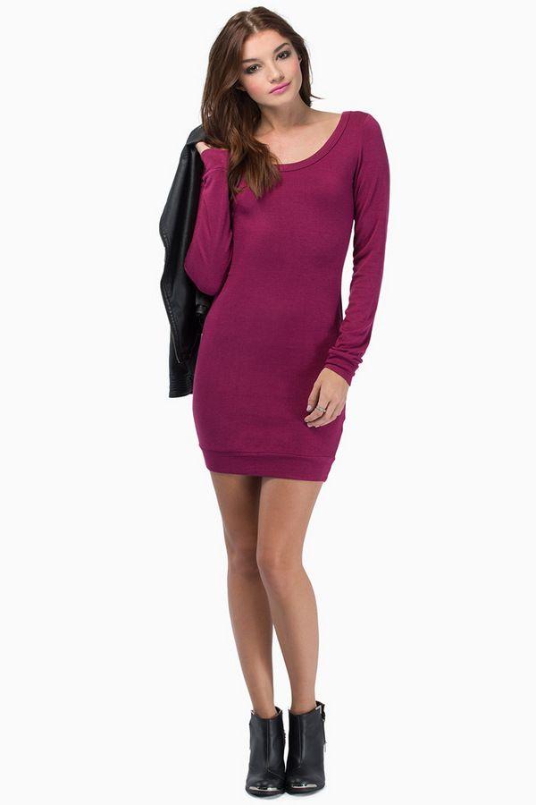 edbb4b073b63 Sabia Dress - with leggings tobi.com   Keepin it fresh - Outfits ...