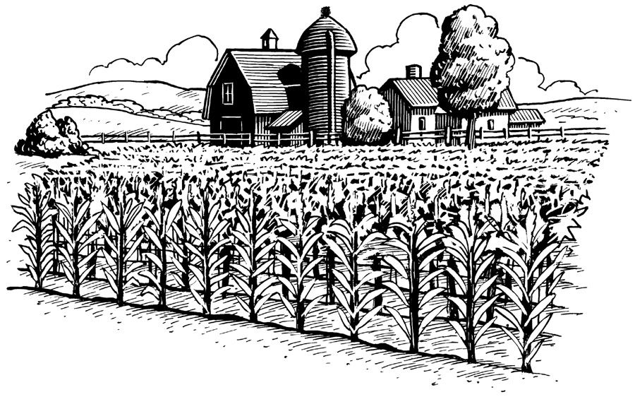 Vintage Farmers Market Sign farm clipart black and...