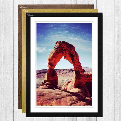 Big Box Art Gerahmtes Poster Steinbögen Utah USA Landschaft, Fotodruck | Wayfair.de