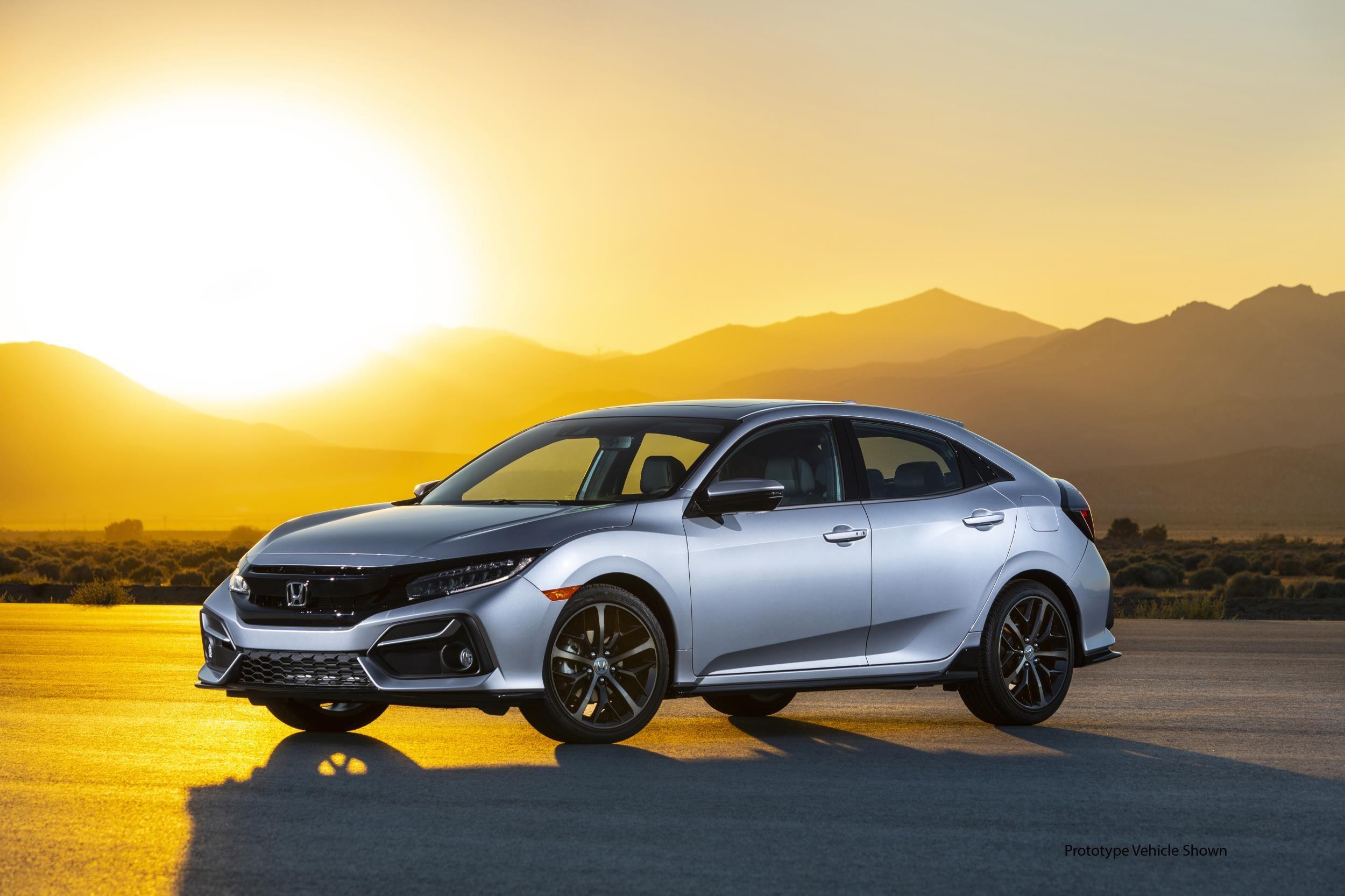 El Honda Civic Hatchback del 2020 aterriza con un nuevo