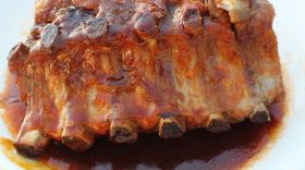 Curts Delectable Creations: Curt's Delectable Best Saucy Ribs Recipe