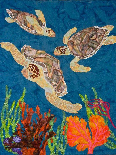 Follow Me | Hawaiian Quilts | Pinterest | Maritim