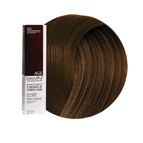 Agebeautiful anti aging permanent liqui creme haircolor  medium golden brown also rh pinterest
