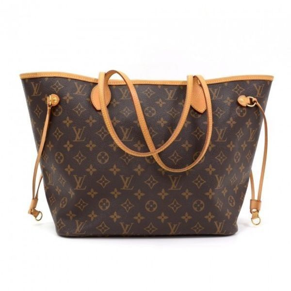 Pre-owned - Neverfull leather tote Louis Vuitton JvTZomhX7