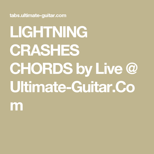 Pin by KaylaB on Ukulele songs | Pinterest | Live lightning ...