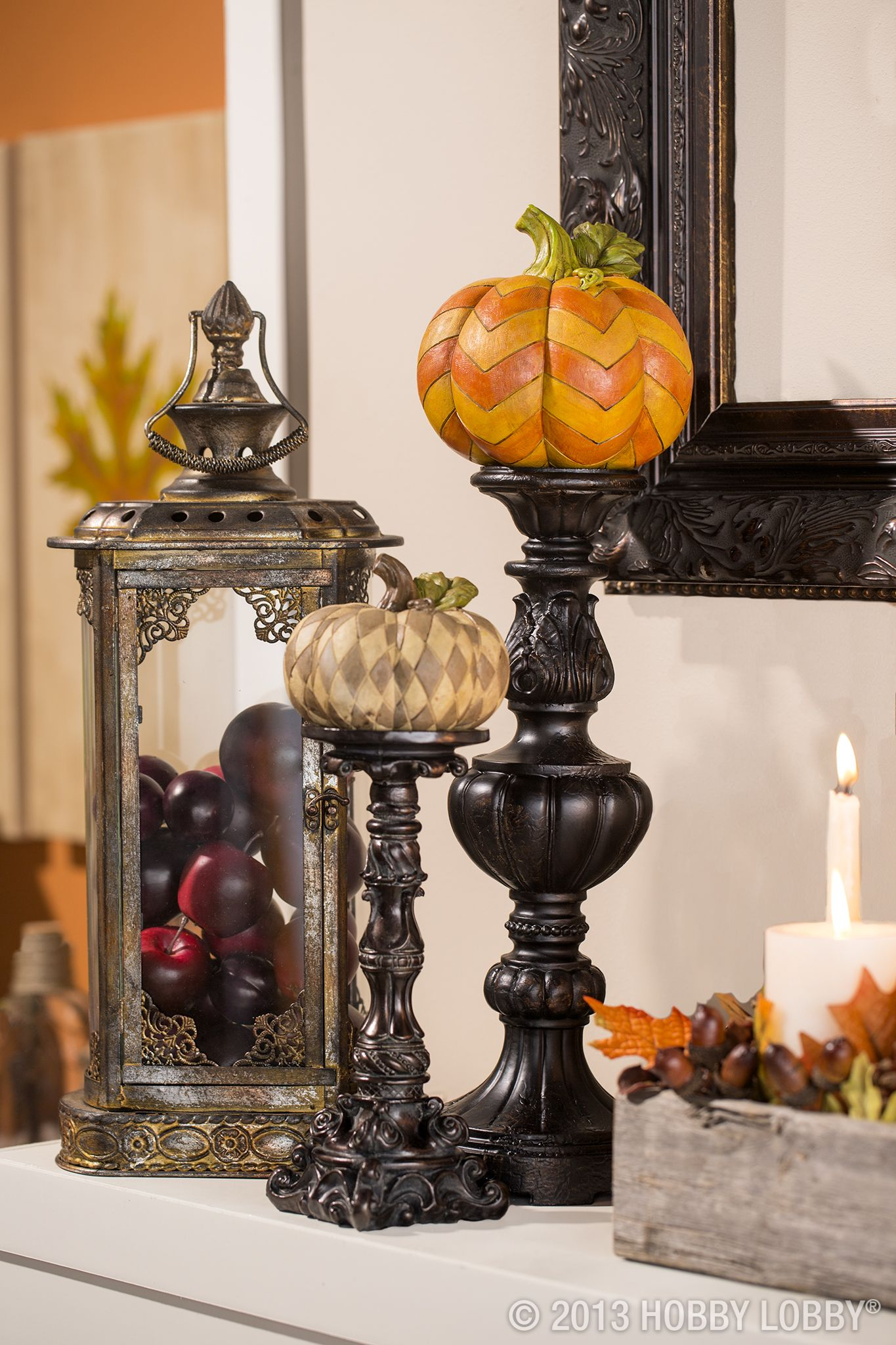 Need some inspiration for fall decor? We have lots of cool-weather - Hobby Lobby Halloween Decorations