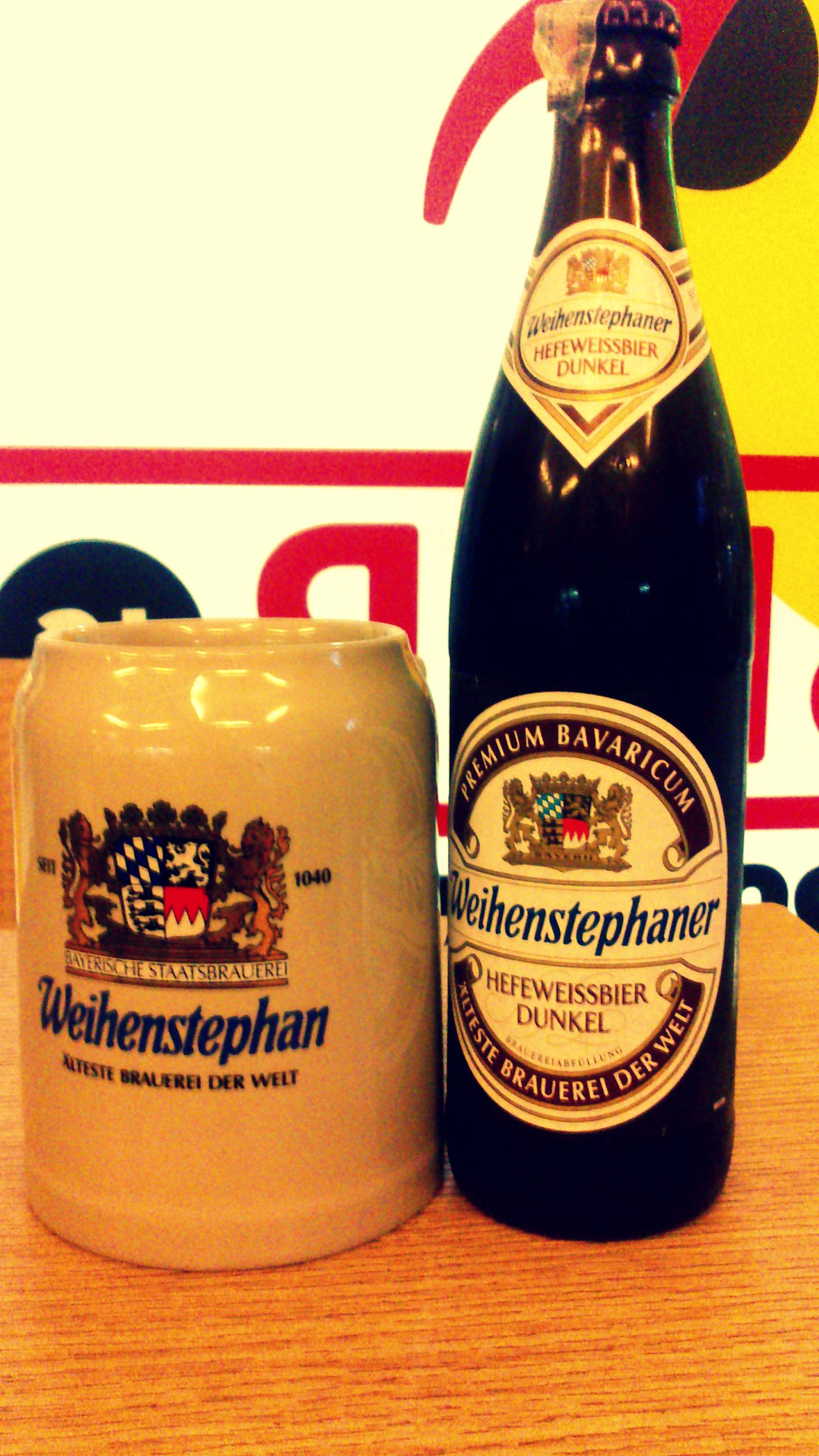 German Beer, as served at The Pint Room, New Delhi, India ...