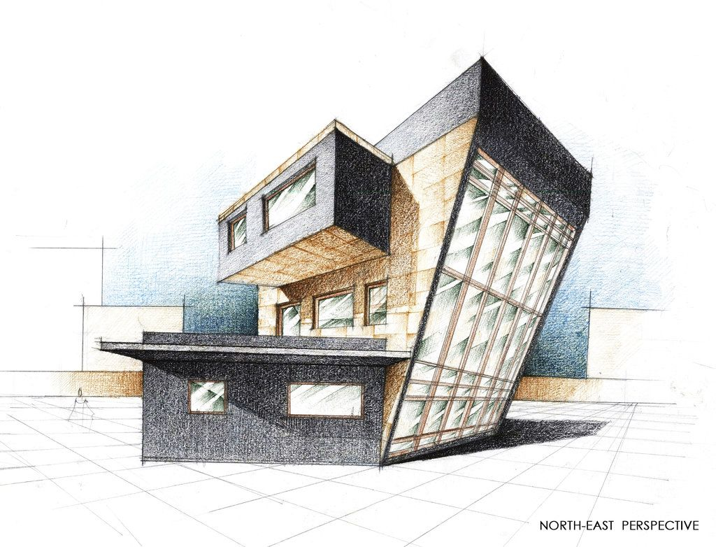 House Exterior Perspective by Radu26.deviantart.com on ...