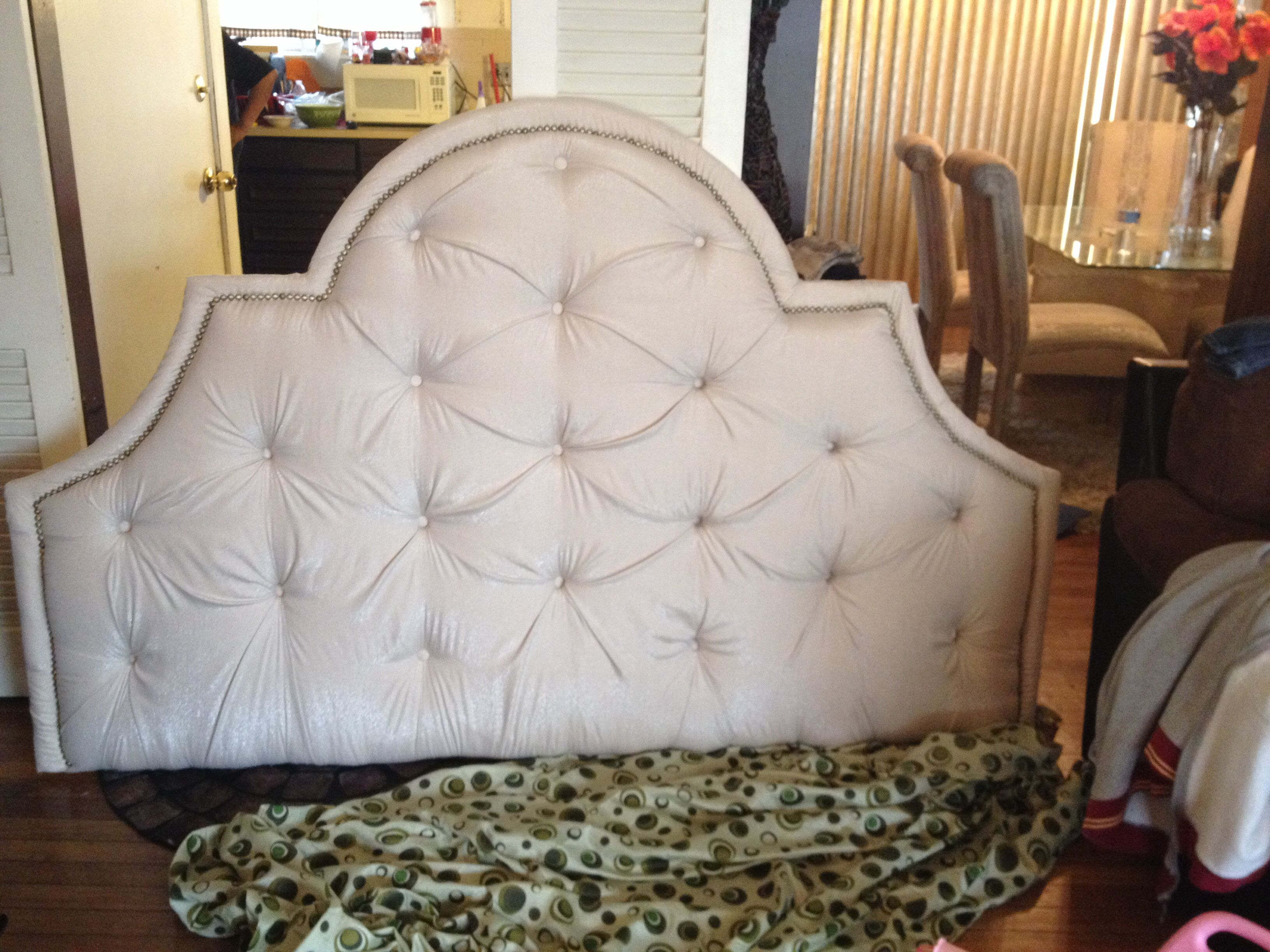 window headboard for ideas bed double black bedroom small spaces beside upholstered corner slipcovered