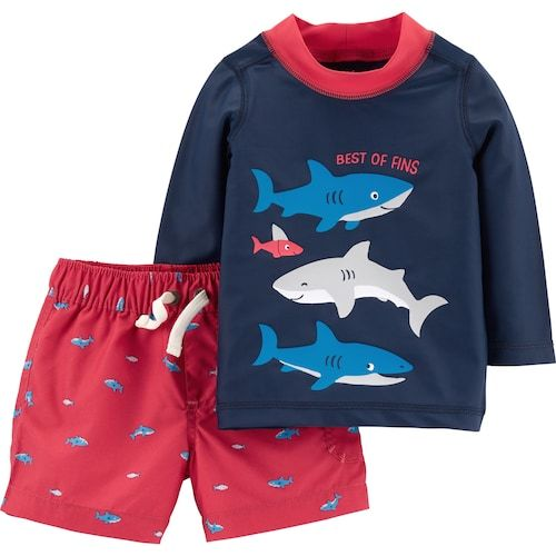 5bbd07b361 Baby Boy Carter's Sharks