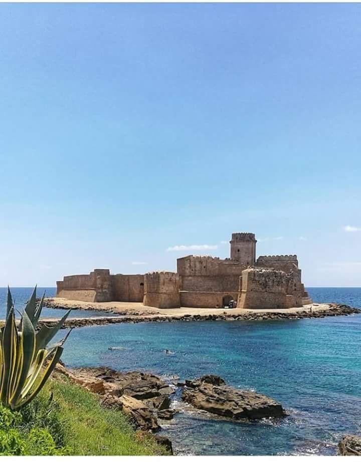 Le Castella Crotone Calabria Beautiful castles, Castle