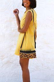 NUNCA ES DEMASIADO ROSA: LITLLE YELLOW DRESS #kissmylook