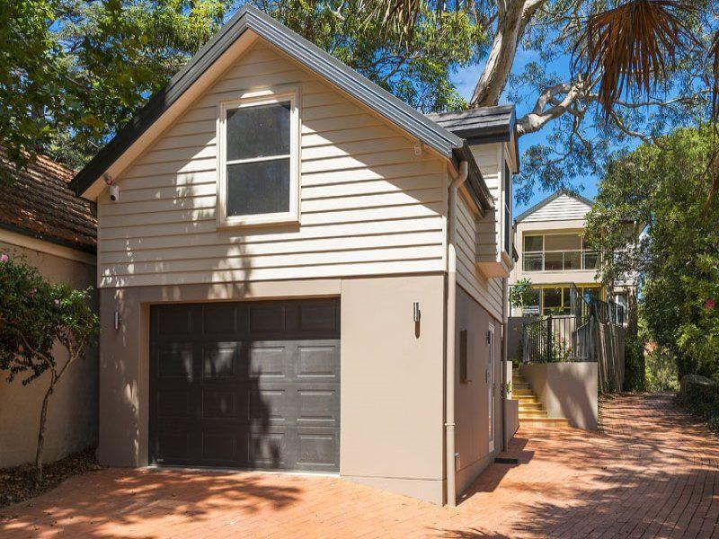 Single Garage With Studio Apartment Above
