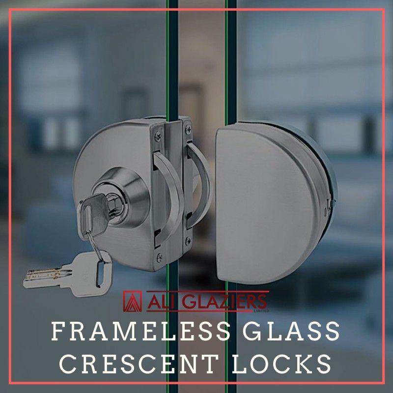 Crescent Locks Glass Center Glass Shower Glass