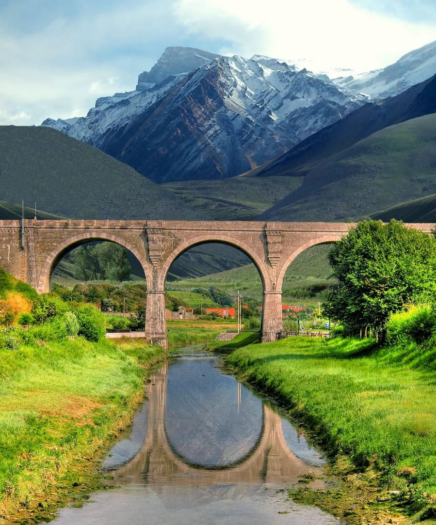 Mountain Bridge With Images Bridge Roman Aqueduct Photo