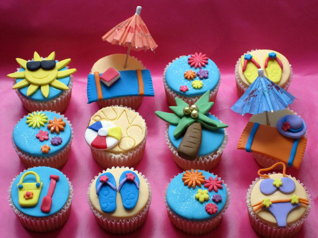 best 25+ beach themed cupcakes ideas only on pinterest | beach