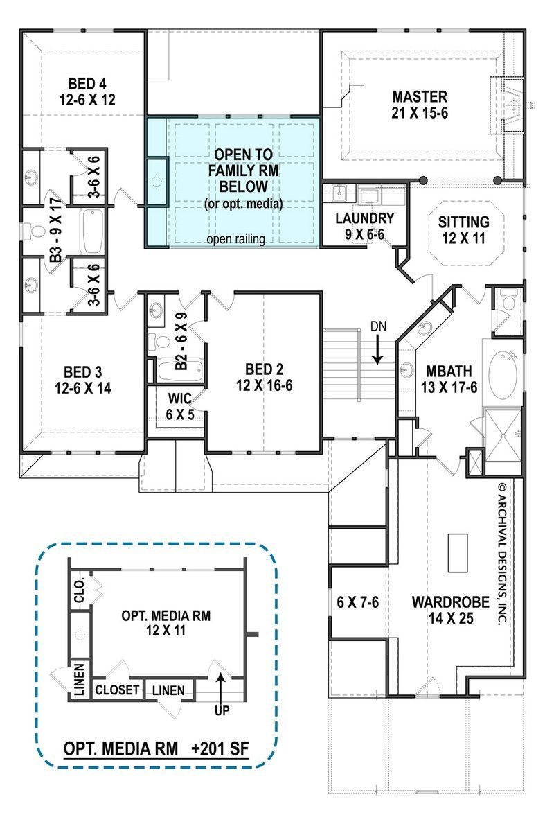 Wexford Open Home Floor Plans 4000 Sq Ft House Plans Archival Designs Wexford House House Plans 4000 Sq Ft House Plans