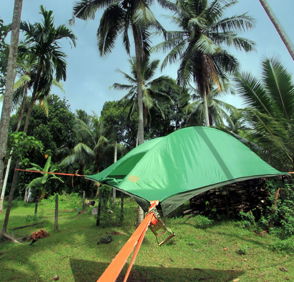 Tree Tent Camping Outdoors Tentsile