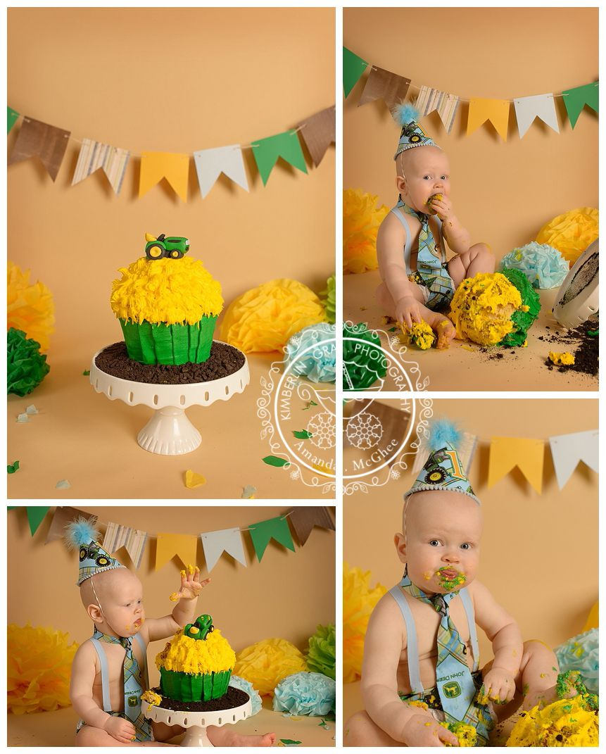 First Birthday Cake Smash Sessions For Boys