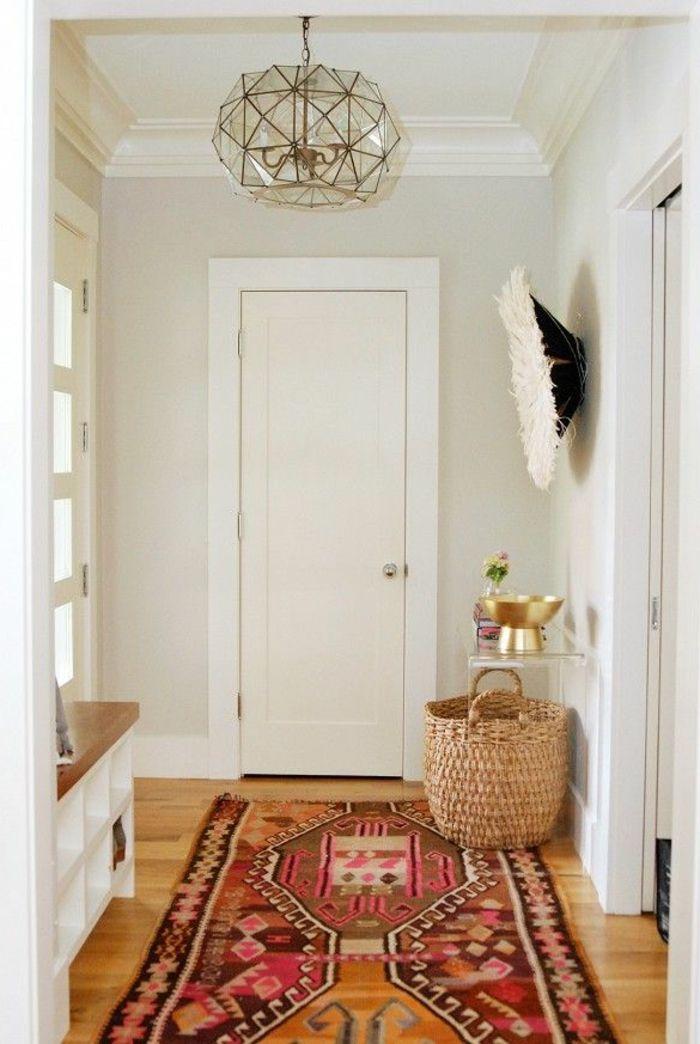 Déco Salon – tapis berbere kilim pas cher pour le couloir moderne ...