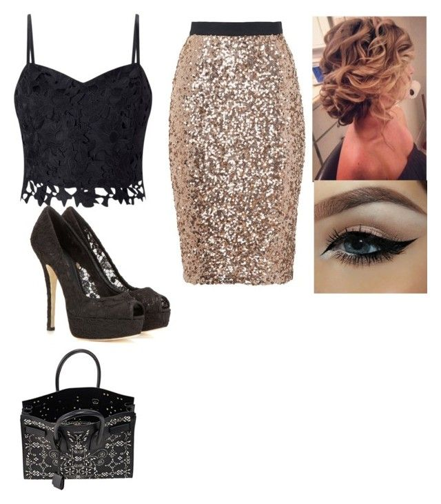 """""""Business meeting"""" by babykat6 ❤ liked on Polyvore featuring Lipsy, French Connection, Dolce&Gabbana and Yves Saint Laurent"""