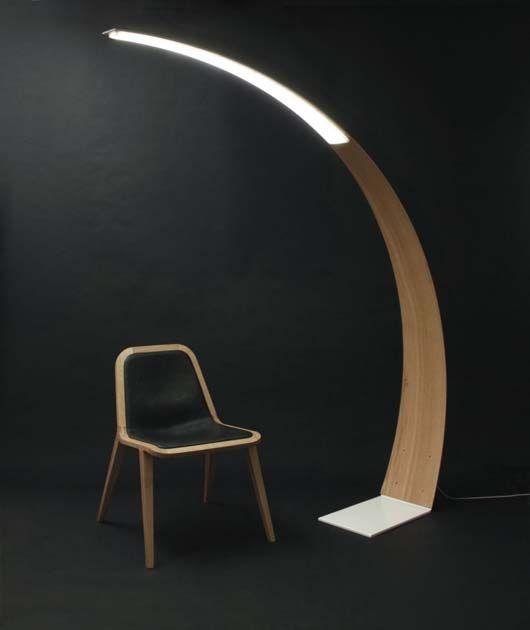Wooden Floor Lamp Designs Ao Duomu Ash Wood Tod Design Floor Lamp ...